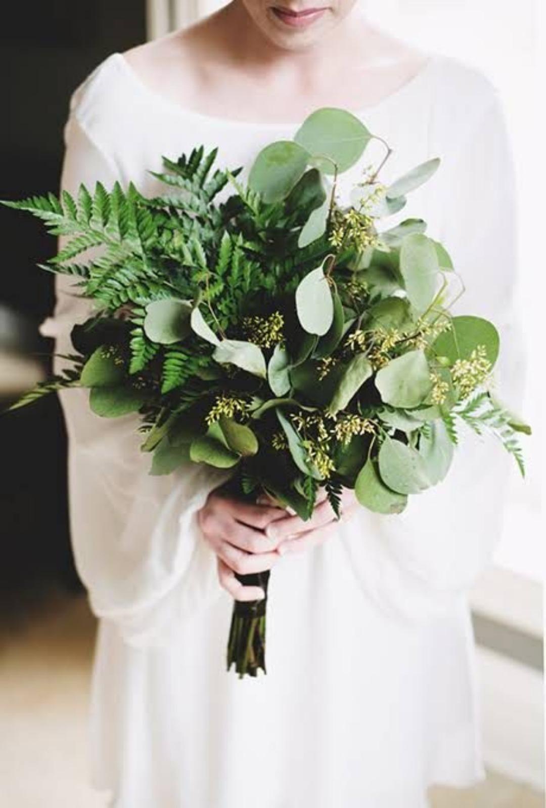 Заказать зелень на букет невесты спб