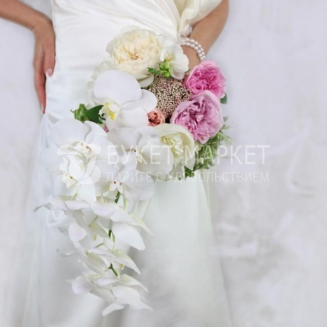 Букет для беременной невесты из пионов купить москва, букеты лилий цветочные