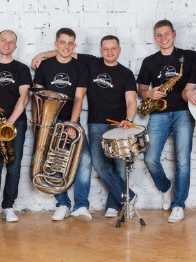 САЛЮТ BRASS BAND на свадьбу 1