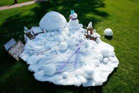 Креативная лыжная свадьба