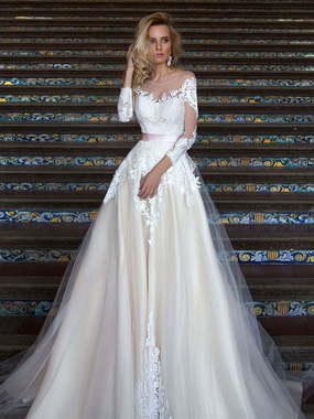 ecaf60917c9080 Быстрый просмотр Свадебное платье Mirey. Силуэт А-силуэт.