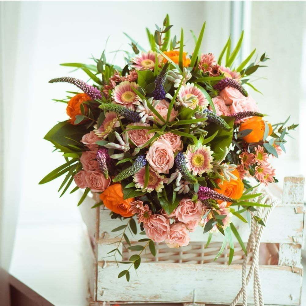 Заказать букет невесты измайлово, красные розы